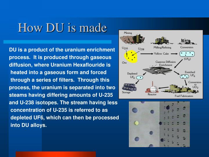 How DU is made