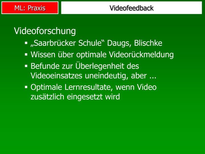 Videofeedback