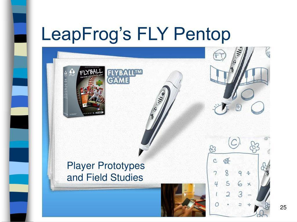 LeapFrog's FLY Pentop