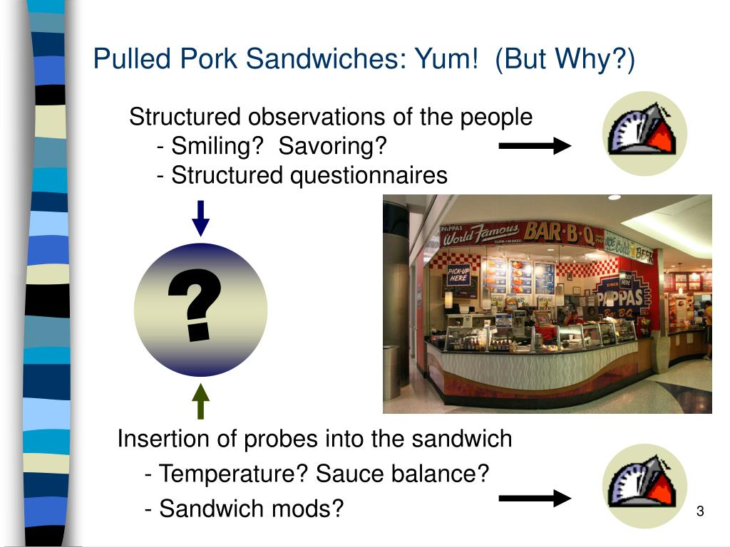 Pulled Pork Sandwiches: Yum!  (But Why?)
