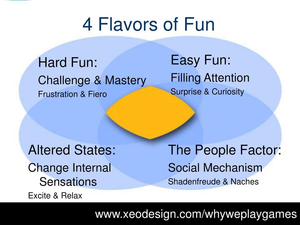 4 Flavors of Fun