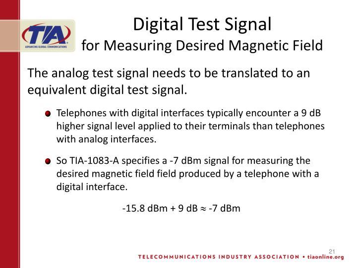 Digital Test Signal