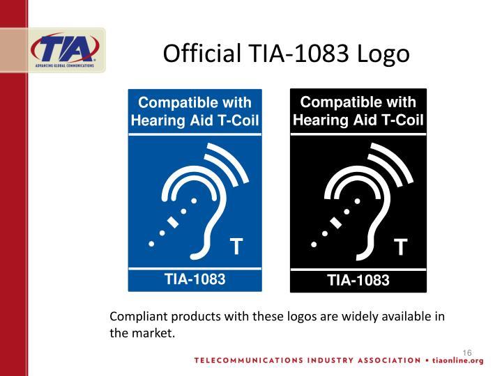 Official TIA-1083 Logo