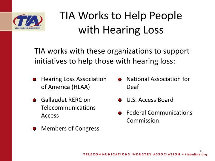 Hearing Loss Association of America (HLAA)