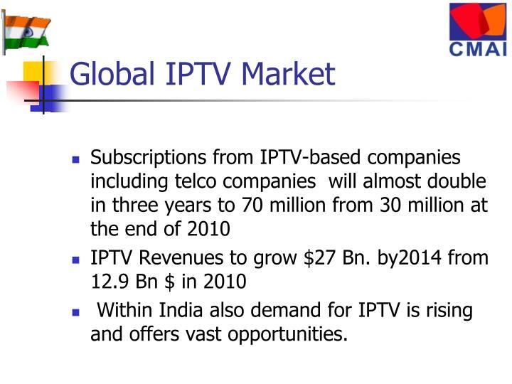 Global IPTV Market