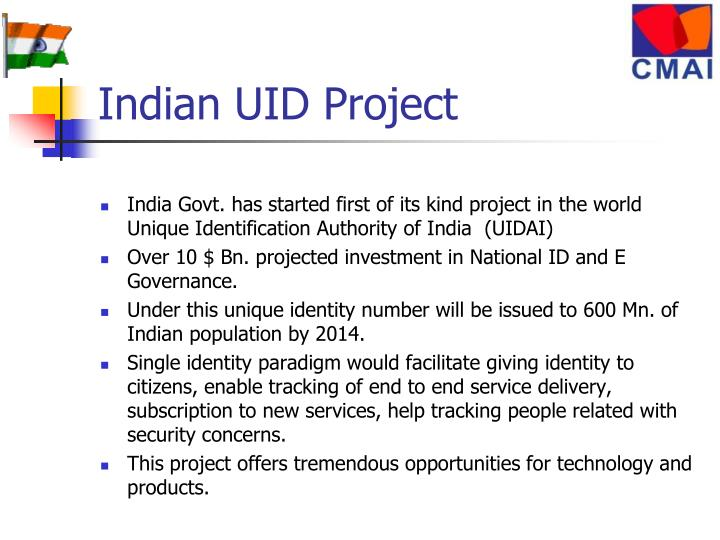 Indian UID Project