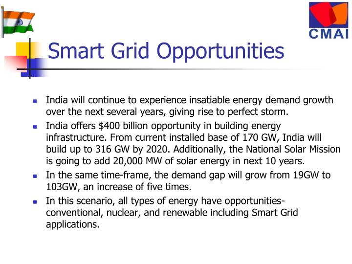Smart Grid Opportunities