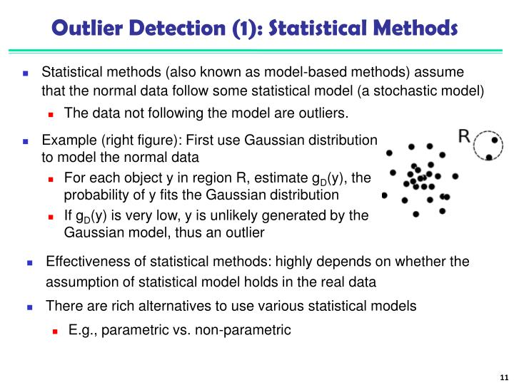 Outlier Detection (1): Statistical Methods