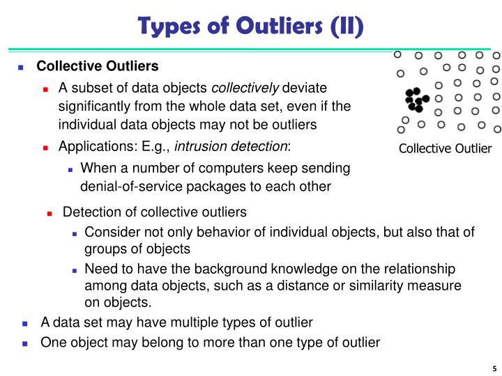 Types of Outliers (II)