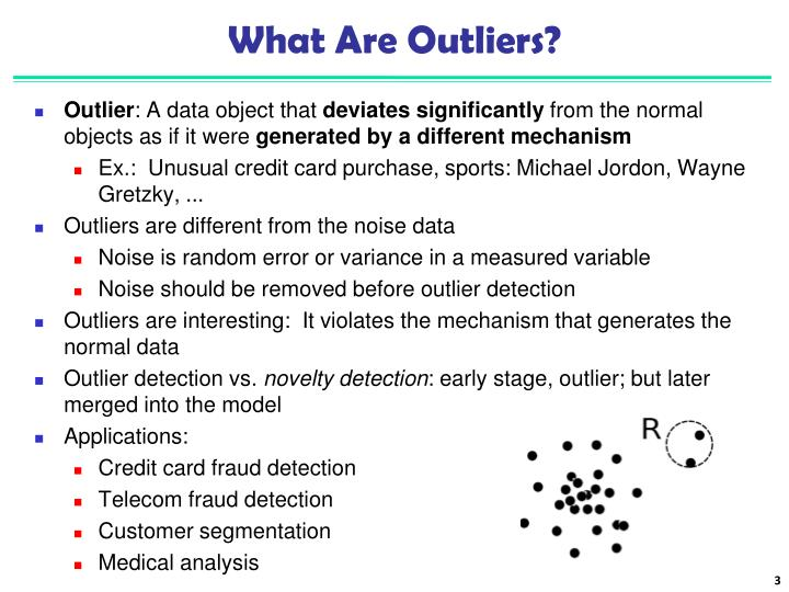What are outliers