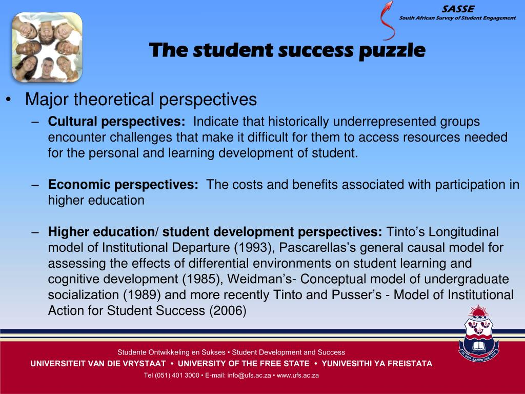 The student success puzzle