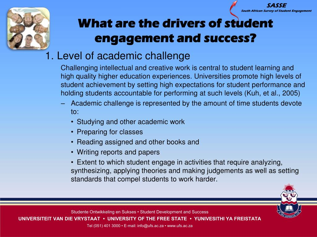 What are the drivers of student engagement and success?