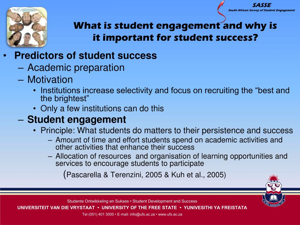 What is student engagement and why is it important for student success?