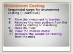 investment casting1