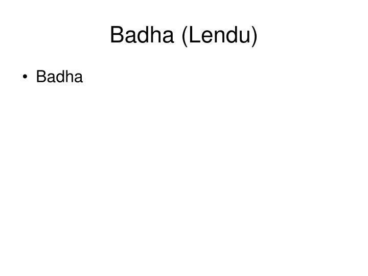 Badha (Lendu)