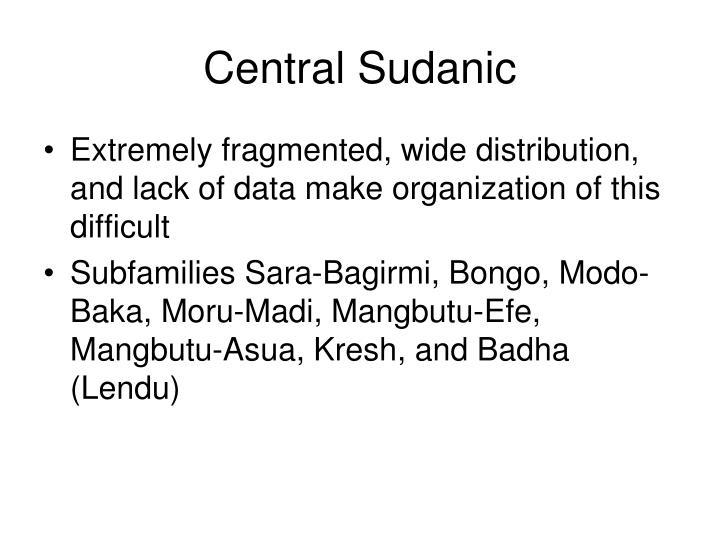 Central Sudanic
