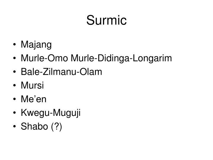 Surmic