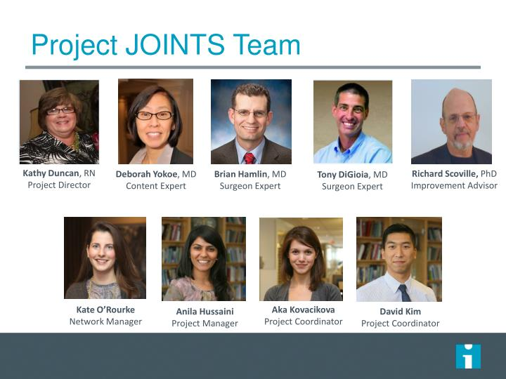 Project JOINTS Team