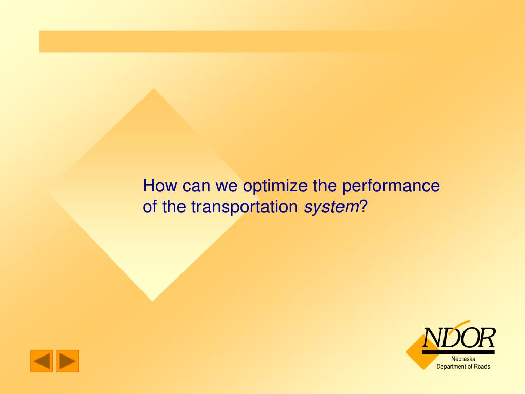 How can we optimize the performance