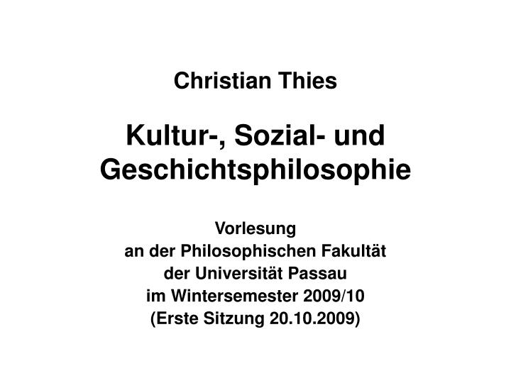Christian Thies