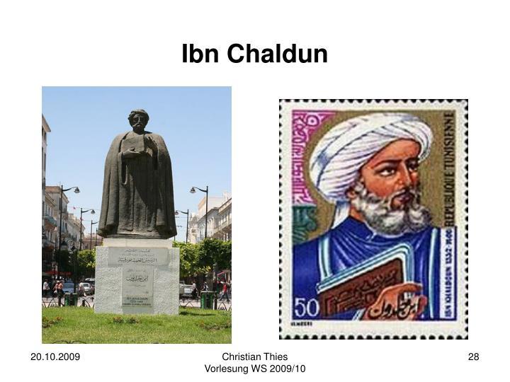 Ibn Chaldun