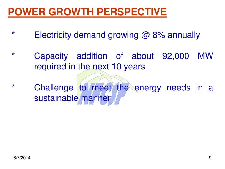 POWER GROWTH PERSPECTIVE