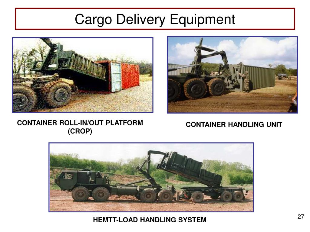 Cargo Delivery Equipment