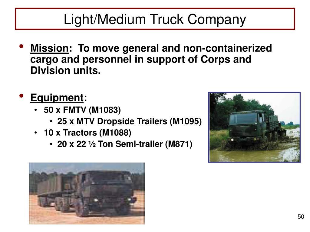 Light/Medium Truck Company