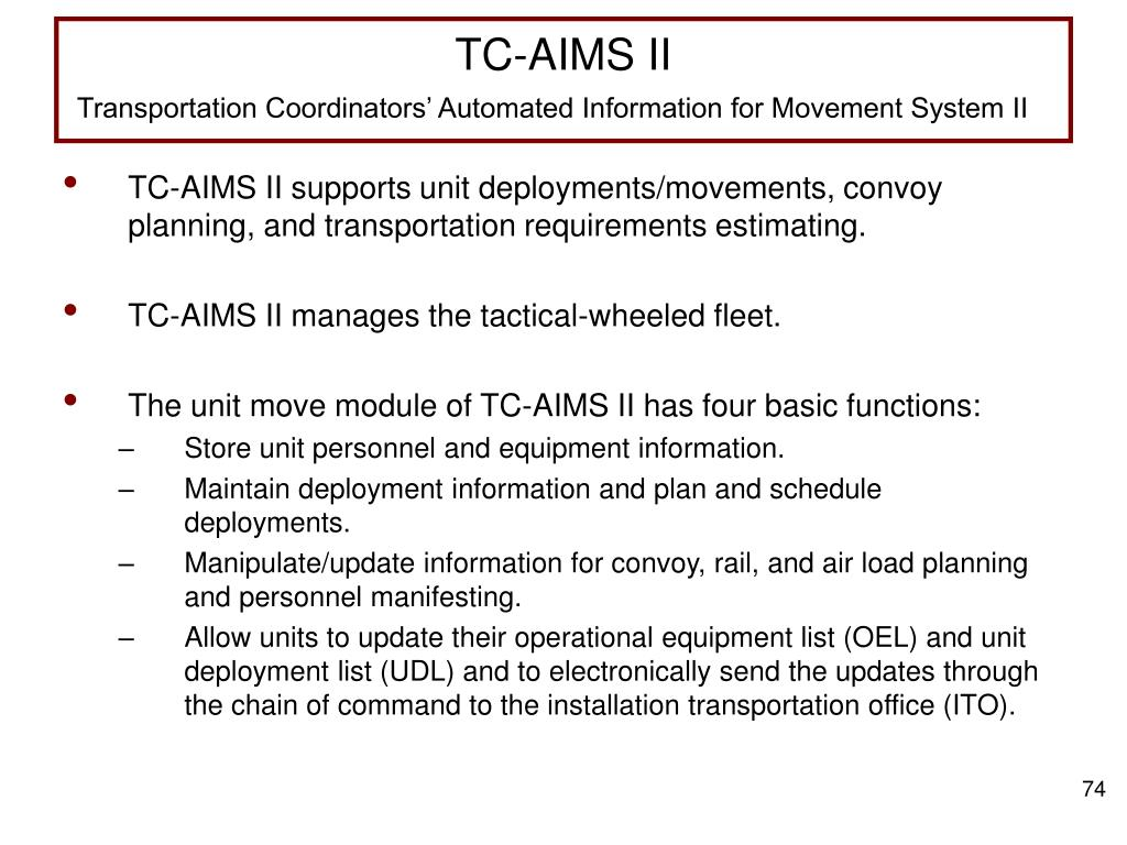 TC-AIMS II