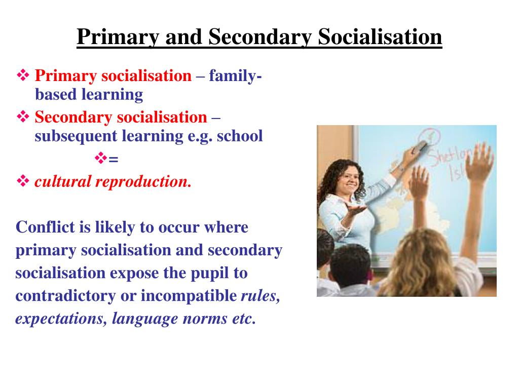 Primary and Secondary Socialisation