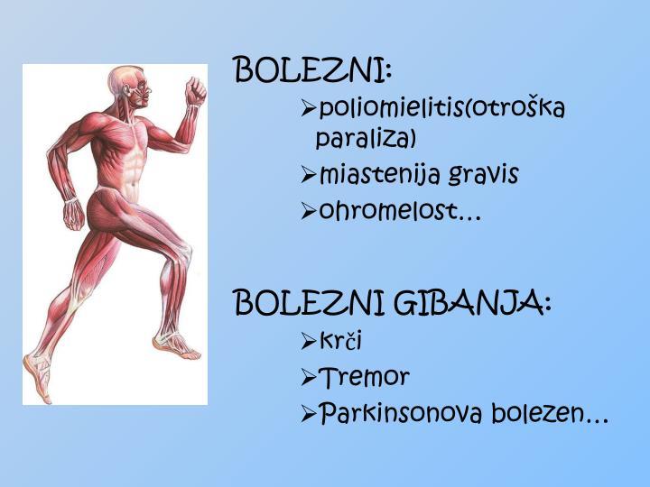BOLEZNI: