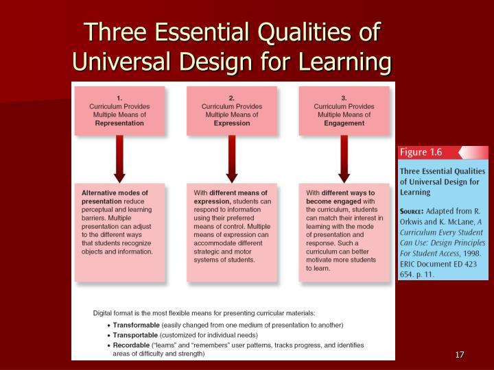 Three Essential Qualities of