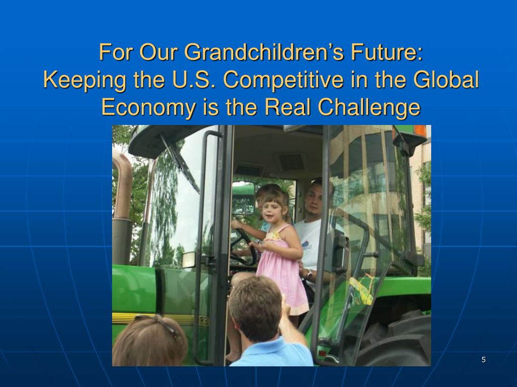 For Our Grandchildren's Future: