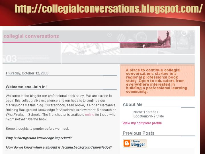 http://collegialconversations.blogspot.com/