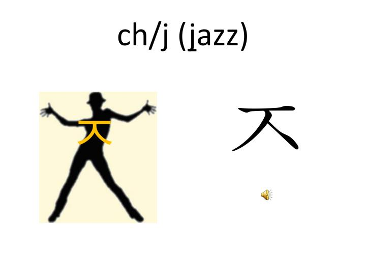 ch/j (