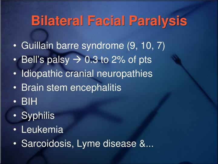 Very beautiful congenital facial nerve palsy eat that
