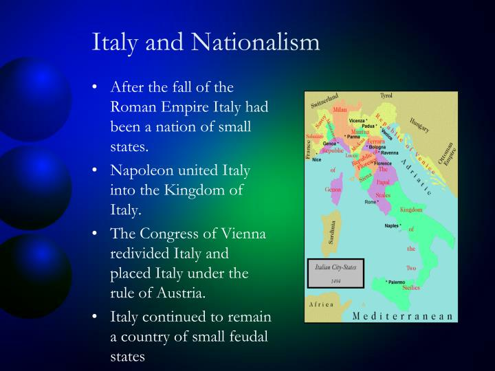 Italy and Nationalism