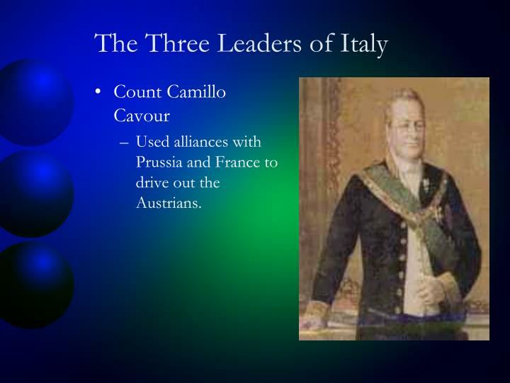 The Three Leaders of Italy