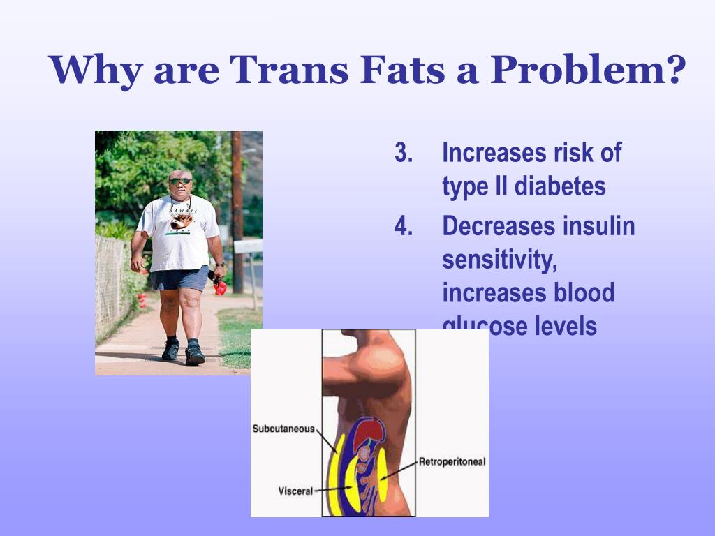 Why are Trans Fats a Problem?