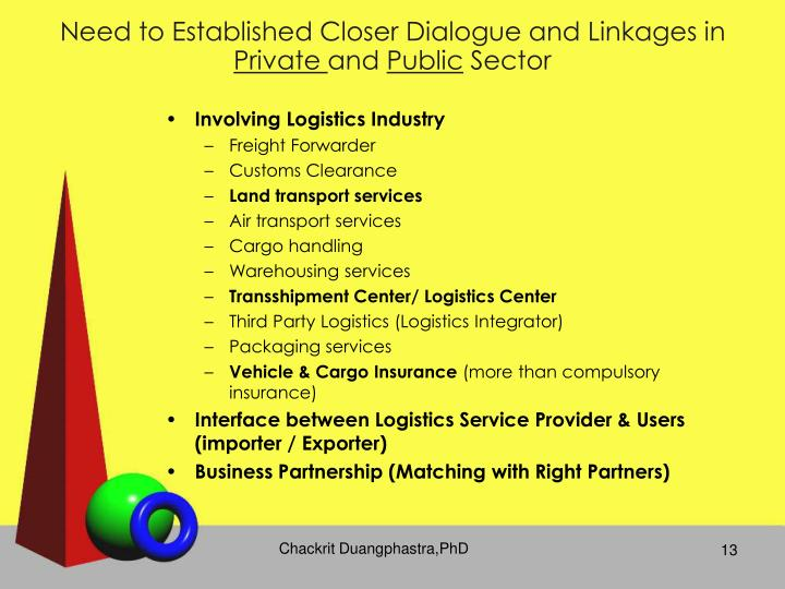 Need to Established Closer Dialogue and Linkages in