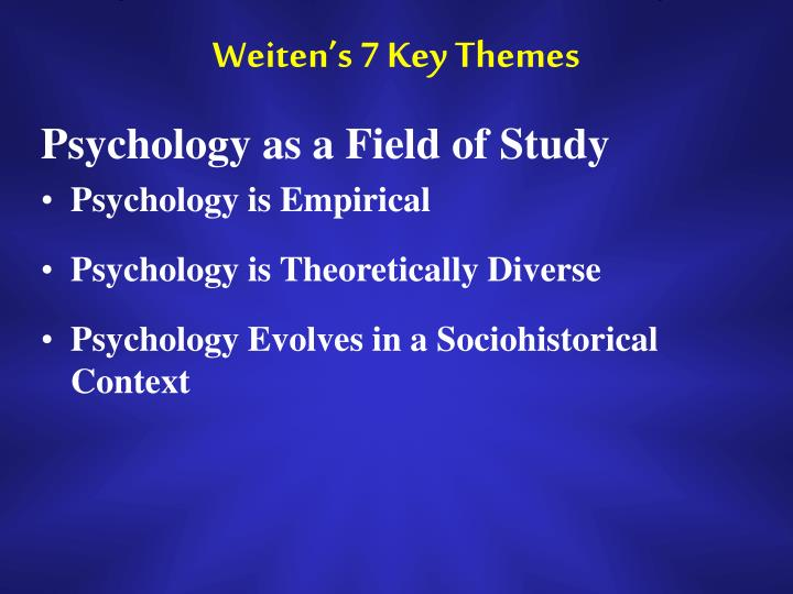 psychology chapter one outline Thinking critically with psychological science  summary 24 correlation when  one trait or behavior accompanies another, we say the two.