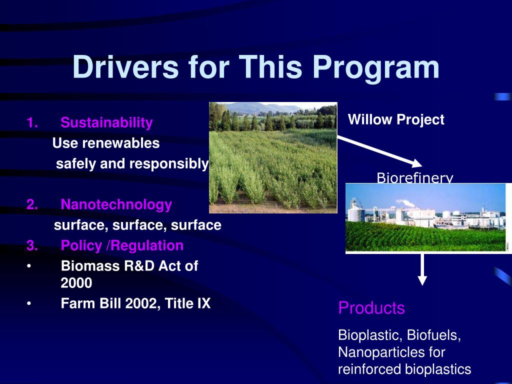 Drivers for This Program