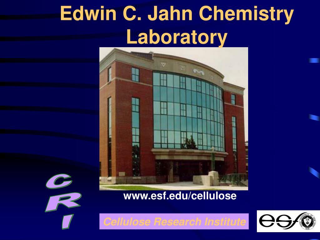 Edwin C. Jahn Chemistry