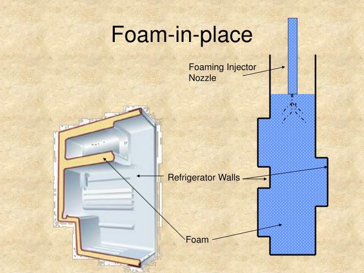 Foam-in-place