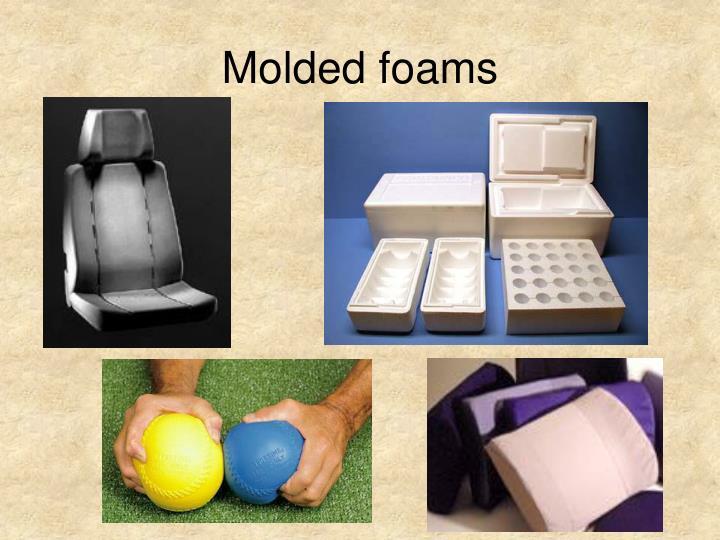 Molded foams