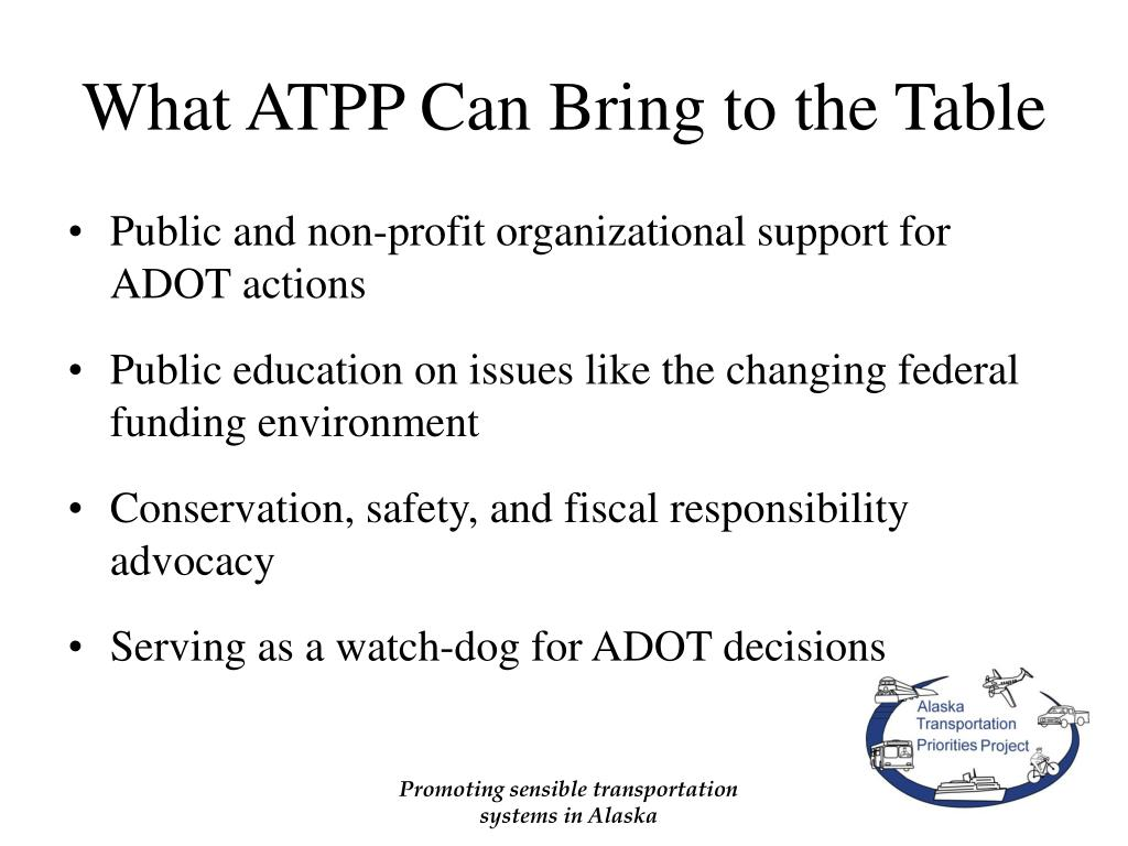 What ATPP Can Bring to the Table