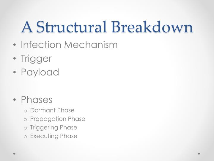 A Structural Breakdown