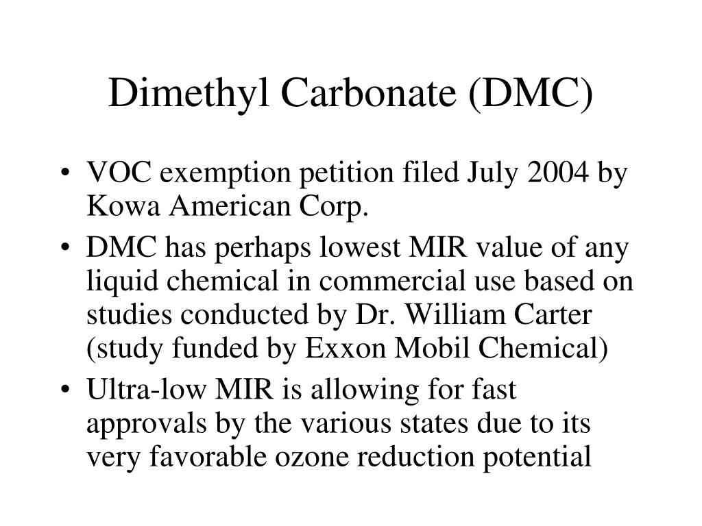 Dimethyl Carbonate (DMC)