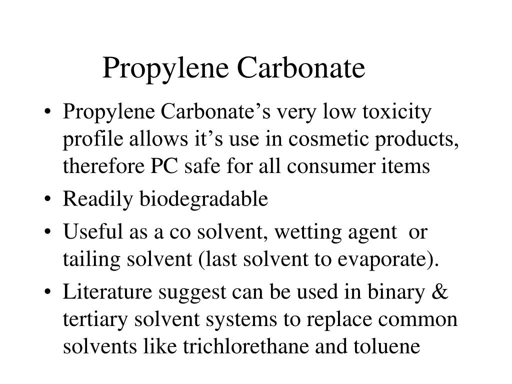 Propylene Carbonate
