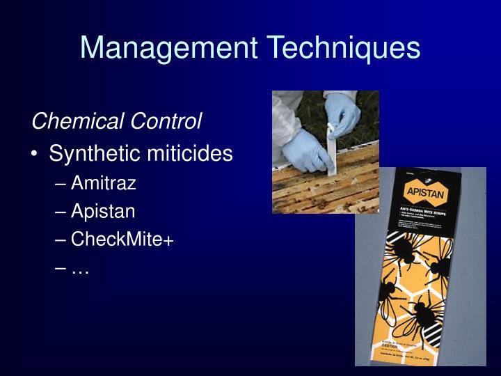 Management Techniques